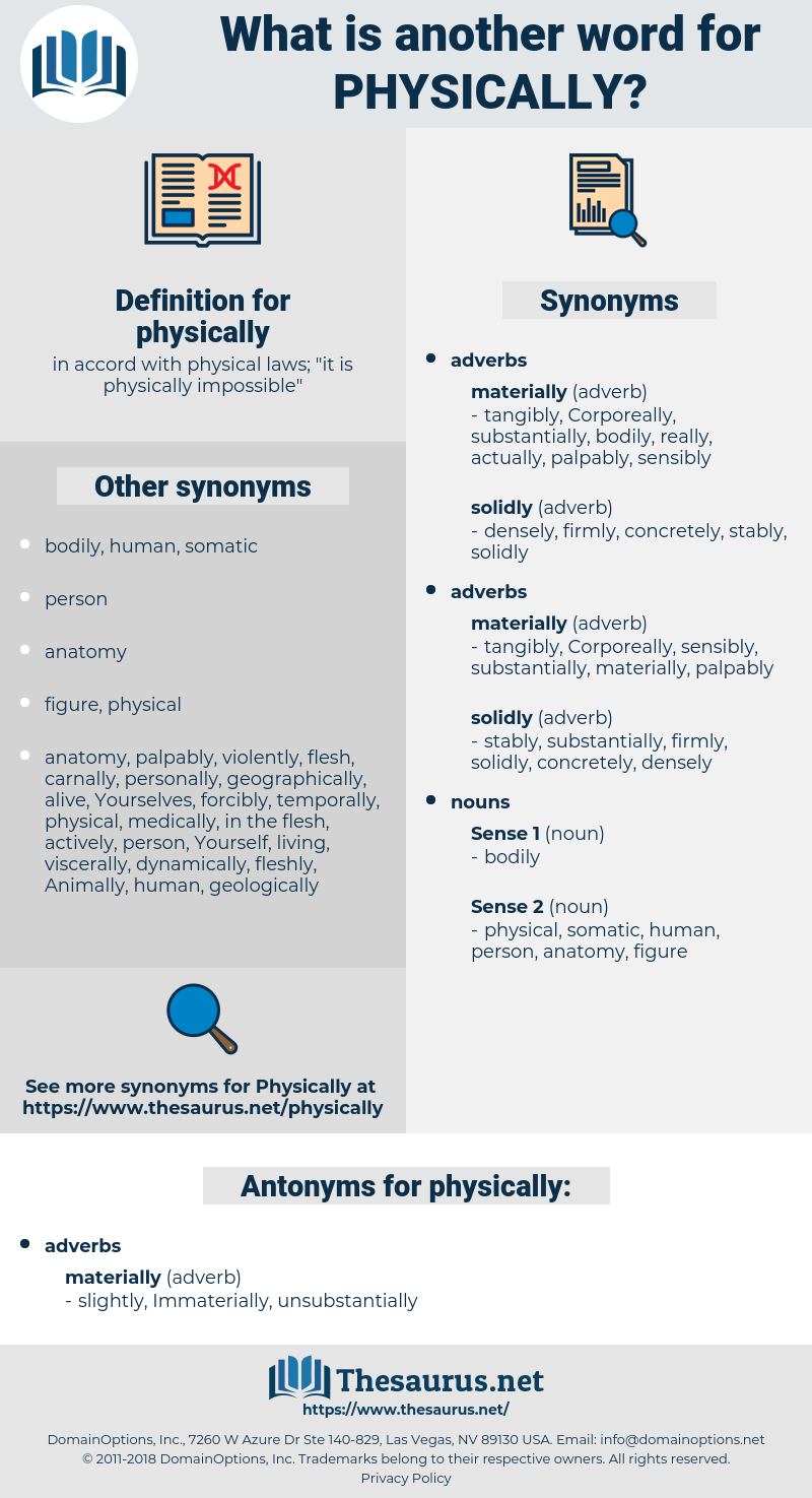 physically, synonym physically, another word for physically, words like physically, thesaurus physically