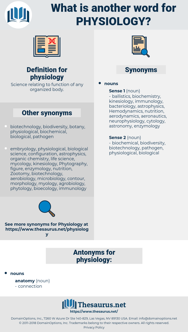 physiology, synonym physiology, another word for physiology, words like physiology, thesaurus physiology