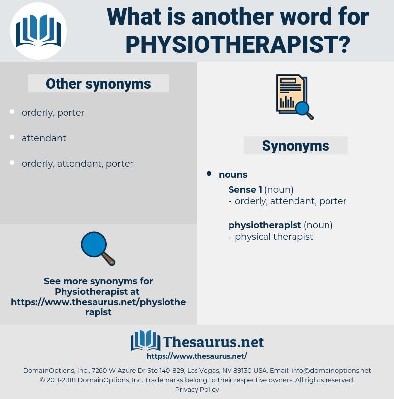 physiotherapist, synonym physiotherapist, another word for physiotherapist, words like physiotherapist, thesaurus physiotherapist