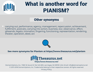 pianism, synonym pianism, another word for pianism, words like pianism, thesaurus pianism