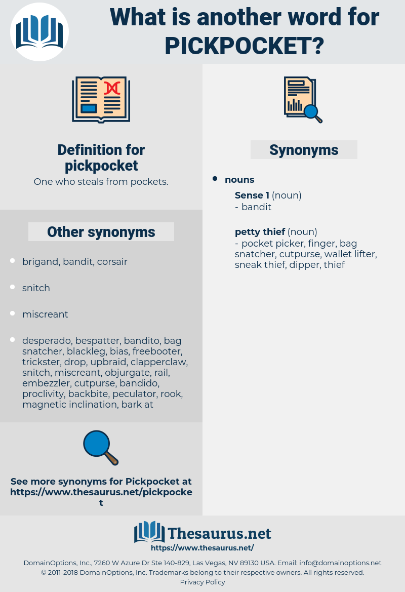pickpocket, synonym pickpocket, another word for pickpocket, words like pickpocket, thesaurus pickpocket