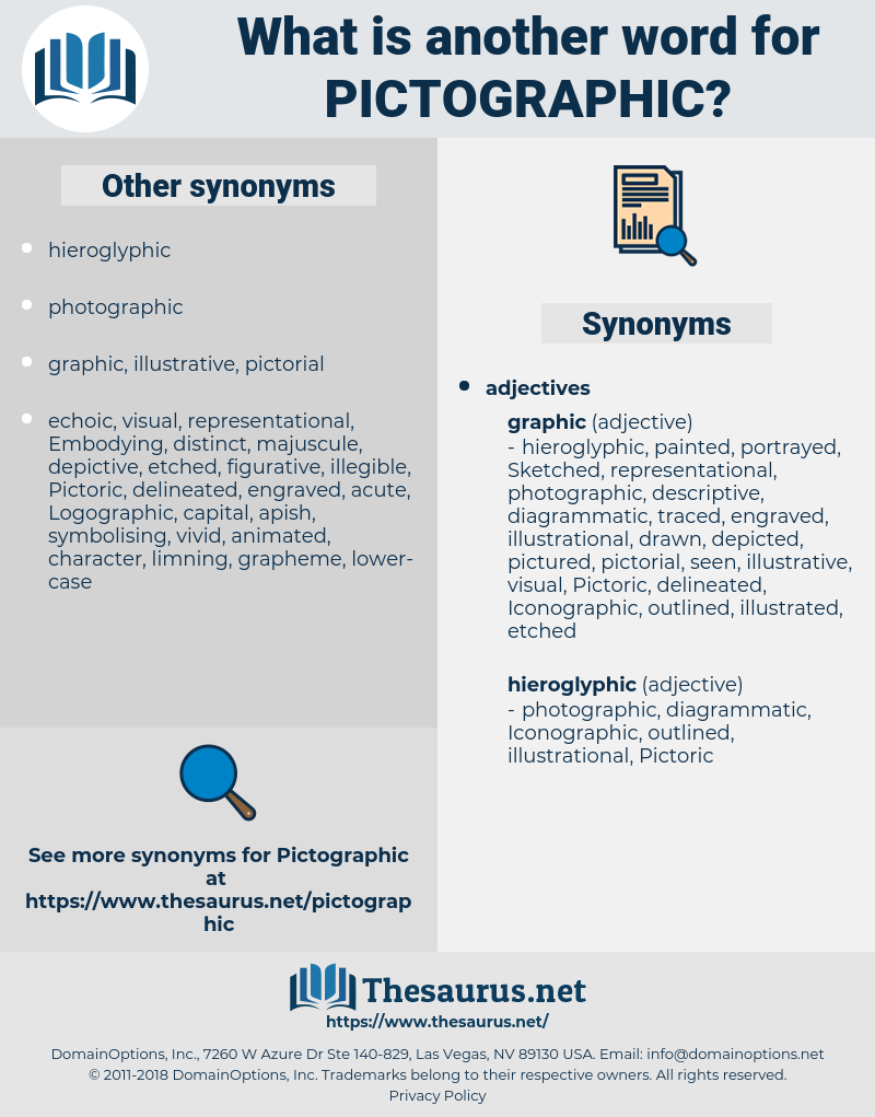pictographic, synonym pictographic, another word for pictographic, words like pictographic, thesaurus pictographic