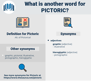 Pictoric, synonym Pictoric, another word for Pictoric, words like Pictoric, thesaurus Pictoric