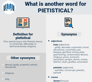 pietistical, synonym pietistical, another word for pietistical, words like pietistical, thesaurus pietistical