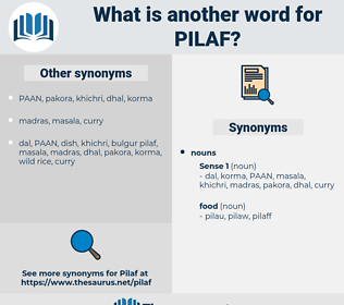 pilaf, synonym pilaf, another word for pilaf, words like pilaf, thesaurus pilaf