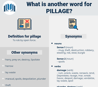 pillage, synonym pillage, another word for pillage, words like pillage, thesaurus pillage