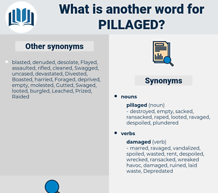 pillaged, synonym pillaged, another word for pillaged, words like pillaged, thesaurus pillaged