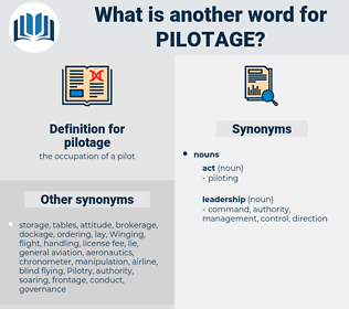 pilotage, synonym pilotage, another word for pilotage, words like pilotage, thesaurus pilotage