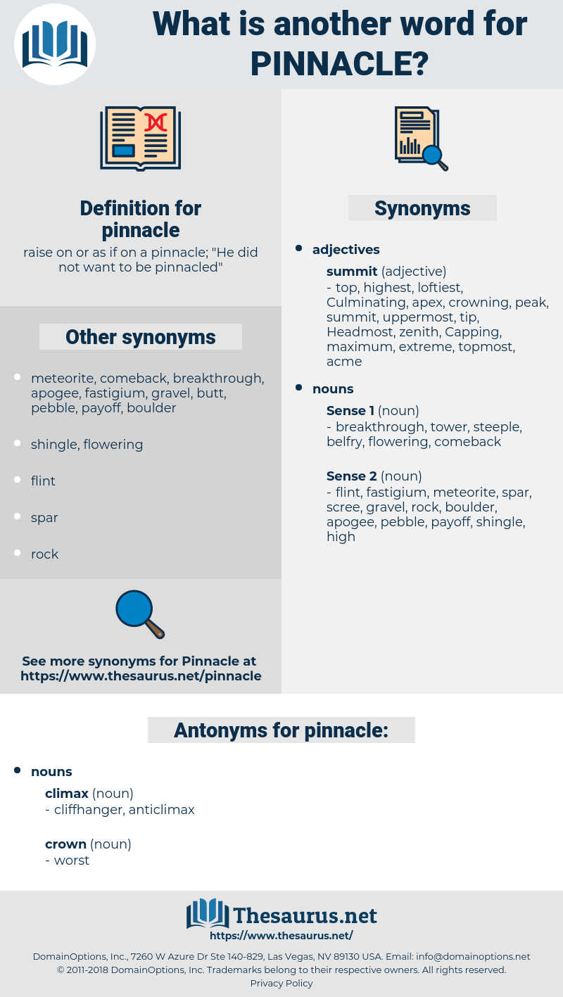 pinnacle, synonym pinnacle, another word for pinnacle, words like pinnacle, thesaurus pinnacle