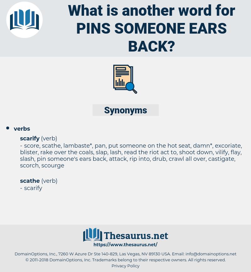 pins someone ears back, synonym pins someone ears back, another word for pins someone ears back, words like pins someone ears back, thesaurus pins someone ears back