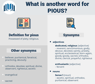 pious, synonym pious, another word for pious, words like pious, thesaurus pious