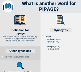 pipage, synonym pipage, another word for pipage, words like pipage, thesaurus pipage