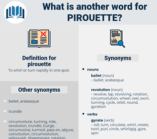 pirouette, synonym pirouette, another word for pirouette, words like pirouette, thesaurus pirouette