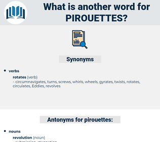 pirouettes, synonym pirouettes, another word for pirouettes, words like pirouettes, thesaurus pirouettes