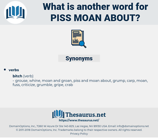 piss moan about, synonym piss moan about, another word for piss moan about, words like piss moan about, thesaurus piss moan about
