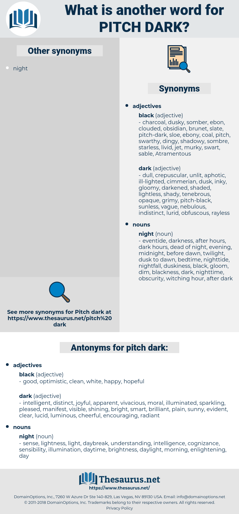 pitch-dark, synonym pitch-dark, another word for pitch-dark, words like pitch-dark, thesaurus pitch-dark