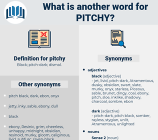 pitchy, synonym pitchy, another word for pitchy, words like pitchy, thesaurus pitchy