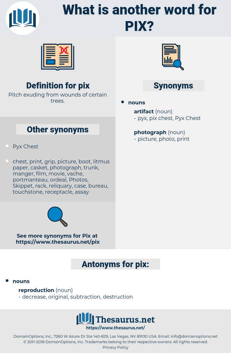 pix, synonym pix, another word for pix, words like pix, thesaurus pix