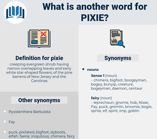 pixie, synonym pixie, another word for pixie, words like pixie, thesaurus pixie