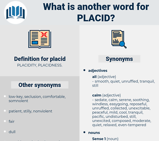 placid, synonym placid, another word for placid, words like placid, thesaurus placid