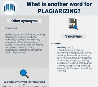 Plagiarizing, synonym Plagiarizing, another word for Plagiarizing, words like Plagiarizing, thesaurus Plagiarizing