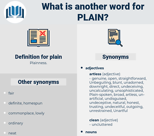 plain, synonym plain, another word for plain, words like plain, thesaurus plain