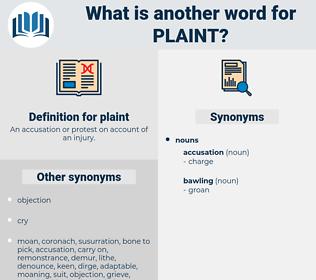 plaint, synonym plaint, another word for plaint, words like plaint, thesaurus plaint