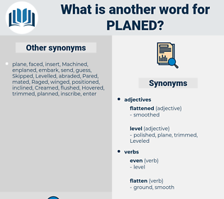 Planed, synonym Planed, another word for Planed, words like Planed, thesaurus Planed