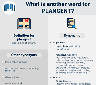 plangent, synonym plangent, another word for plangent, words like plangent, thesaurus plangent