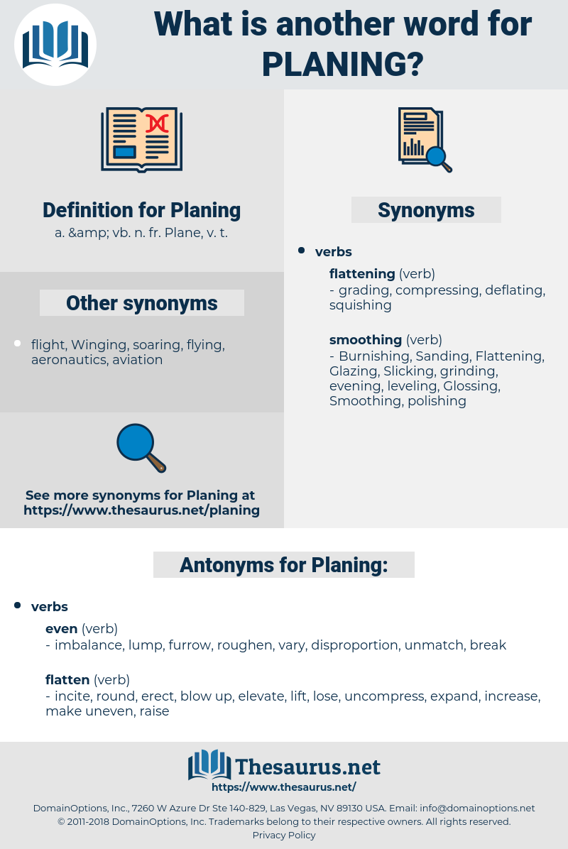 Planing, synonym Planing, another word for Planing, words like Planing, thesaurus Planing