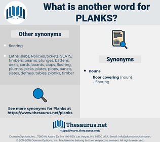 planks, synonym planks, another word for planks, words like planks, thesaurus planks