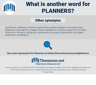 planners, synonym planners, another word for planners, words like planners, thesaurus planners