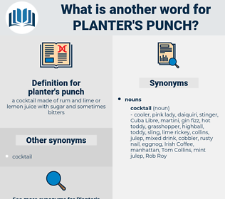 planter's punch, synonym planter's punch, another word for planter's punch, words like planter's punch, thesaurus planter's punch