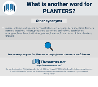planters, synonym planters, another word for planters, words like planters, thesaurus planters