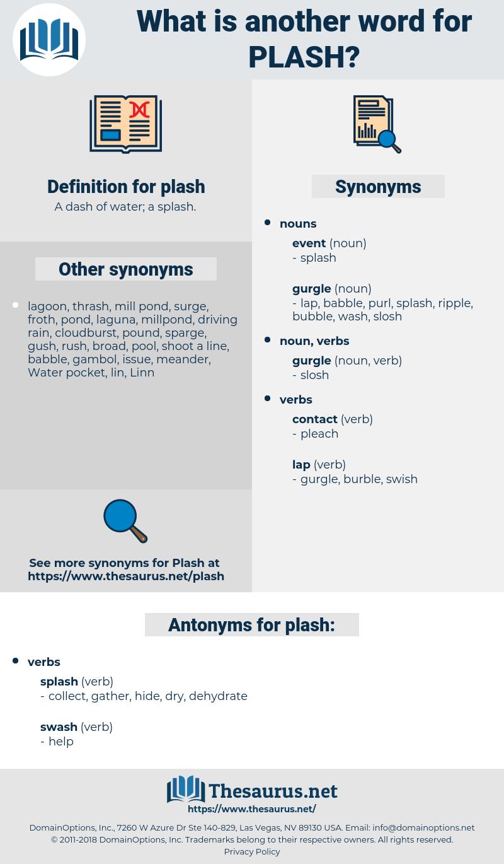 plash, synonym plash, another word for plash, words like plash, thesaurus plash