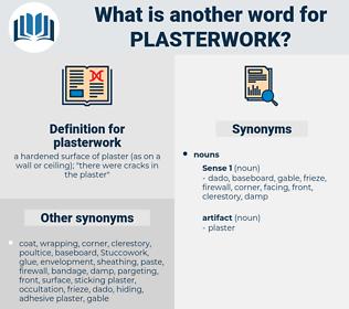 plasterwork, synonym plasterwork, another word for plasterwork, words like plasterwork, thesaurus plasterwork