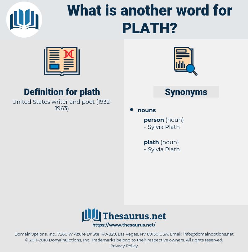 plath, synonym plath, another word for plath, words like plath, thesaurus plath