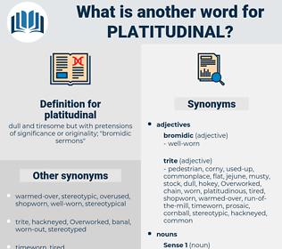 platitudinal, synonym platitudinal, another word for platitudinal, words like platitudinal, thesaurus platitudinal