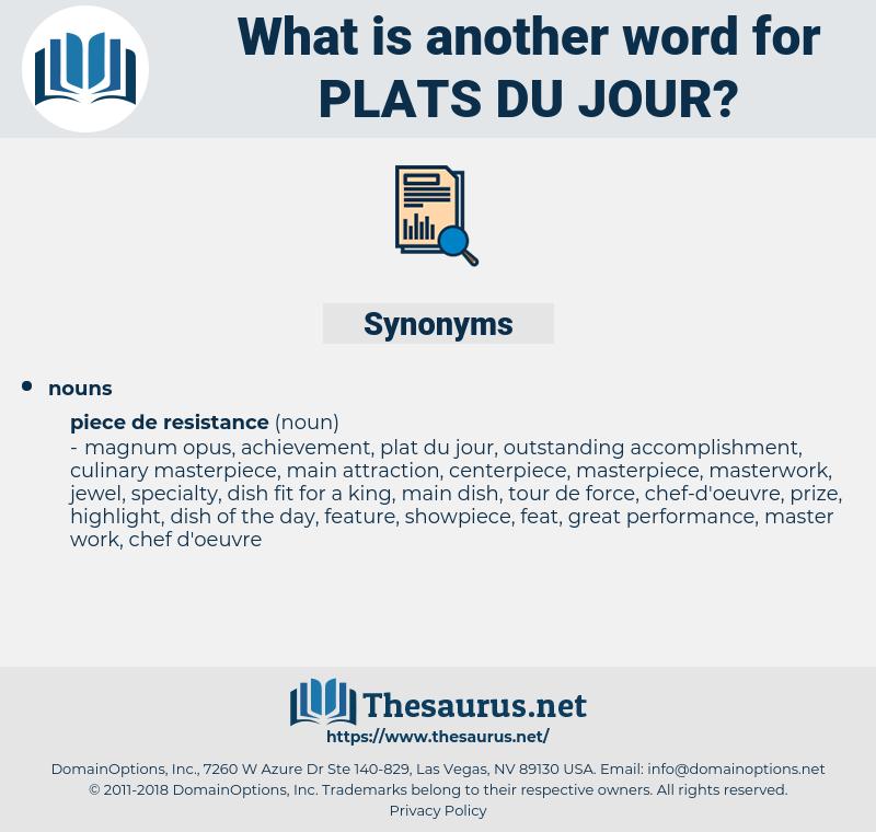 plats du jour, synonym plats du jour, another word for plats du jour, words like plats du jour, thesaurus plats du jour