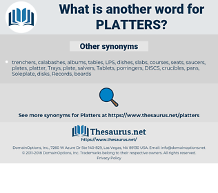 platters, synonym platters, another word for platters, words like platters, thesaurus platters