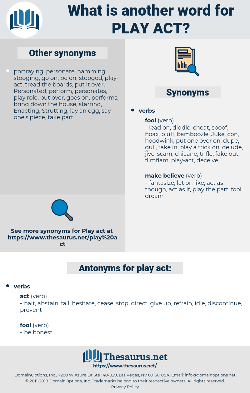 play-act, synonym play-act, another word for play-act, words like play-act, thesaurus play-act