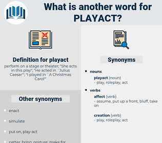 playact, synonym playact, another word for playact, words like playact, thesaurus playact