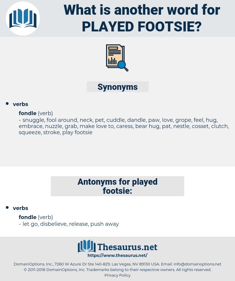 played footsie, synonym played footsie, another word for played footsie, words like played footsie, thesaurus played footsie
