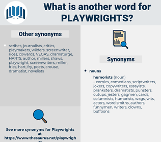 playwrights, synonym playwrights, another word for playwrights, words like playwrights, thesaurus playwrights