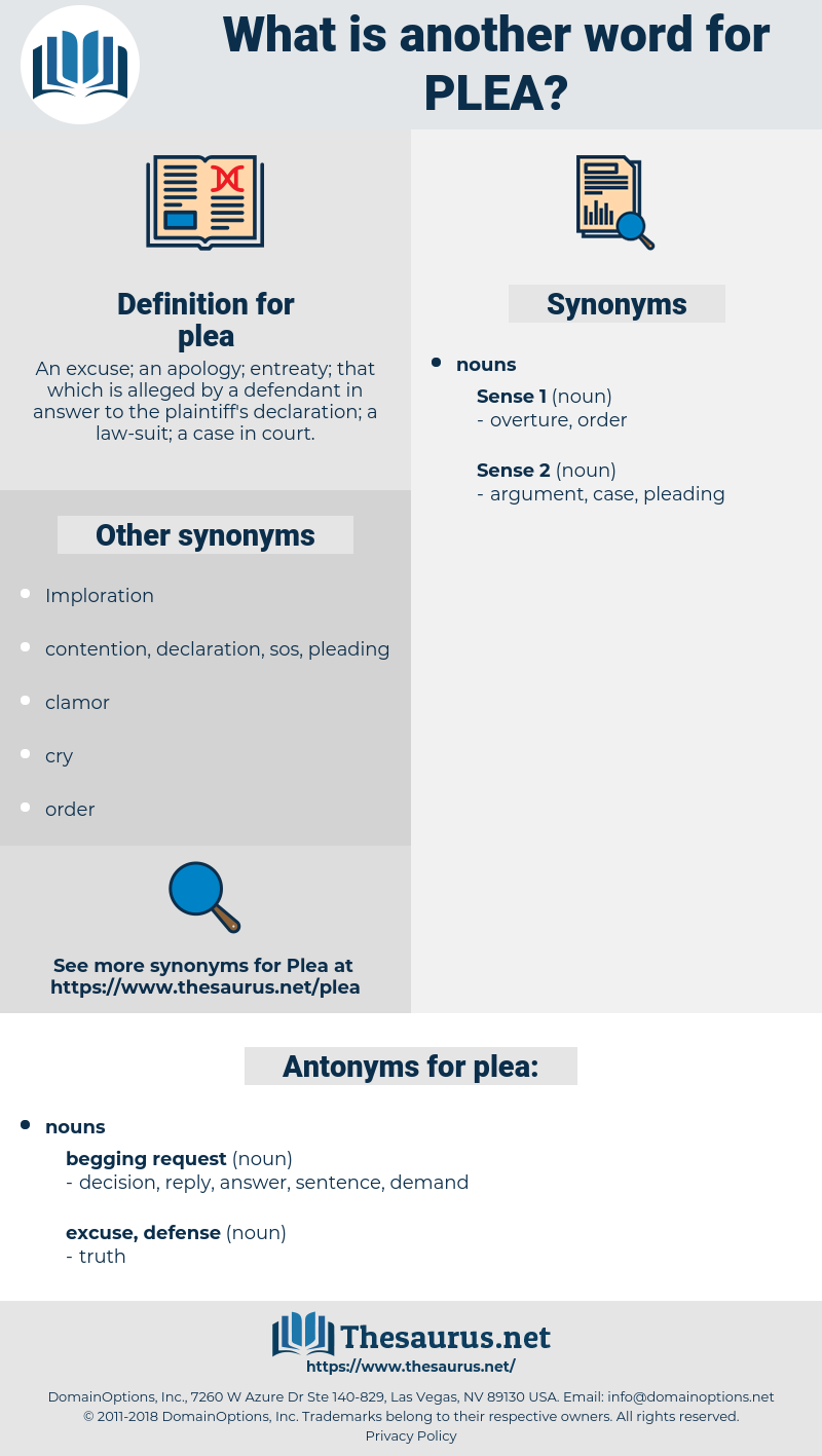 plea, synonym plea, another word for plea, words like plea, thesaurus plea