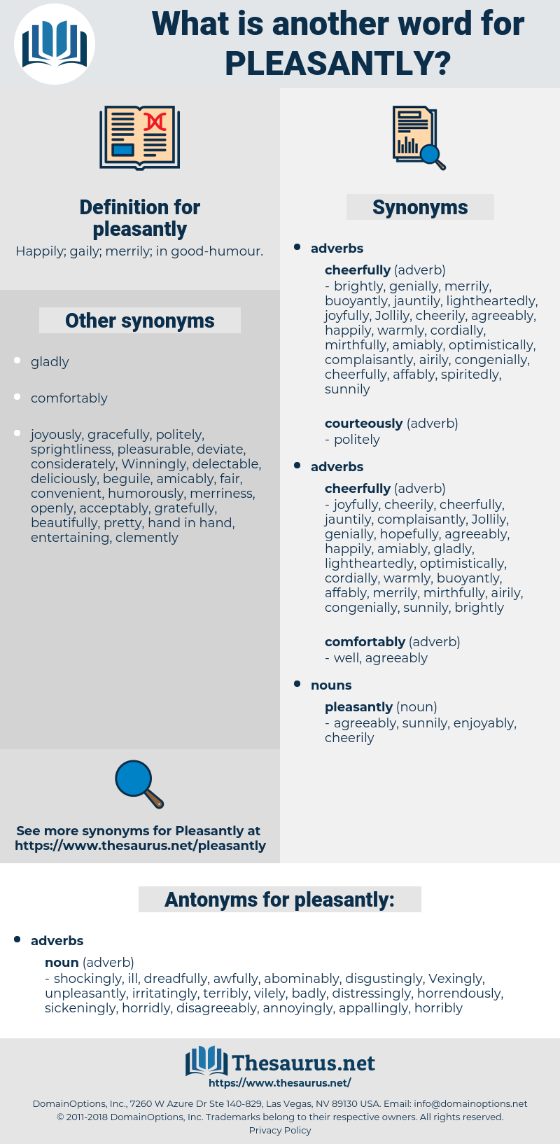 pleasantly, synonym pleasantly, another word for pleasantly, words like pleasantly, thesaurus pleasantly