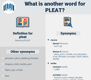 pleat, synonym pleat, another word for pleat, words like pleat, thesaurus pleat