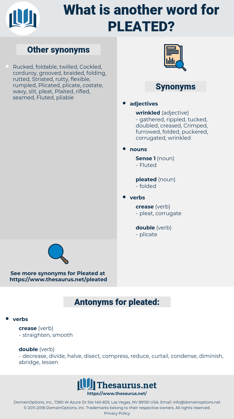 pleated, synonym pleated, another word for pleated, words like pleated, thesaurus pleated