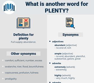 plenty, synonym plenty, another word for plenty, words like plenty, thesaurus plenty