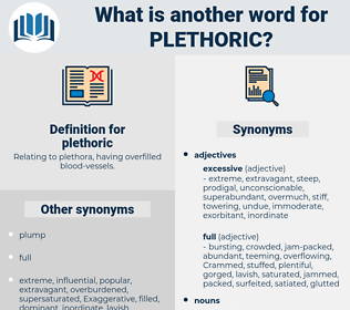 plethoric, synonym plethoric, another word for plethoric, words like plethoric, thesaurus plethoric